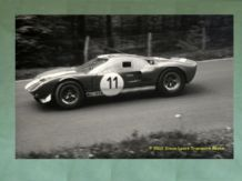 Ford GT40 (104) Shelby team. Chris Amon, 1965 ADAC 1000kms.Photo
